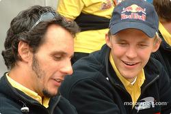 Laurent Aiello y Mattias Ekström
