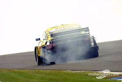 Unfall: Christian Abt, Abt Sportsline, Abt-Audi TT-R 2003