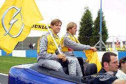Jeroen Bleekemolen et Joachim Winkelhock