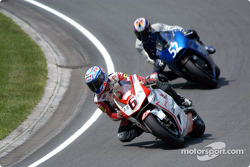 Makoto Tamada, Pramac Honda; David De Gea, Sabre