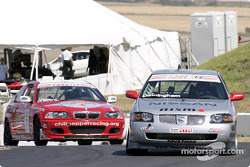 Peter Cunningham and by Ken Dobson on their parade lap