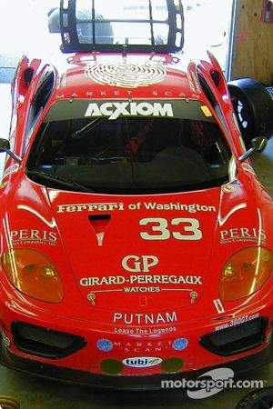 Le garage de Scuderia Ferrari of Washington