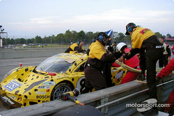 Pitstop for #8 G&W Motorsports BMW Picchio DP2: Darren Law, Guy Cosmo