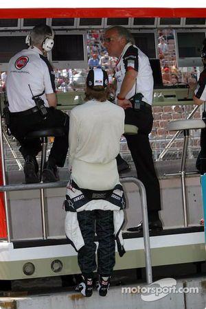 Geoff Willis, Jenson Button y David Richards