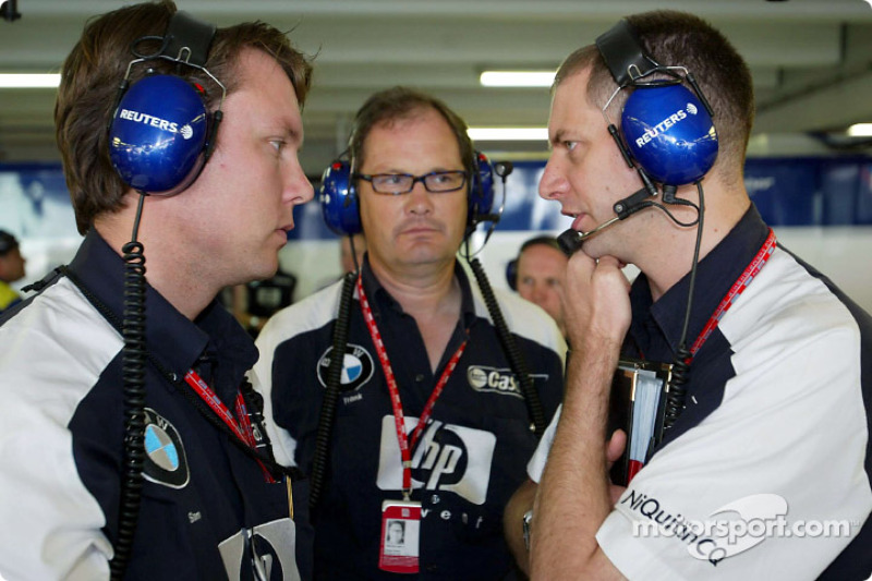 Williams takım elemanları