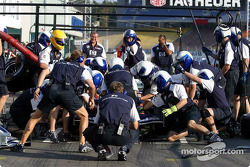 Pitstop practice, Williams-BMW