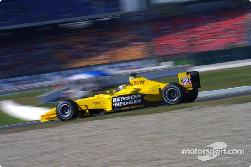 2003 год. Жолт Баумгартнер. 2 гонки в Jordan