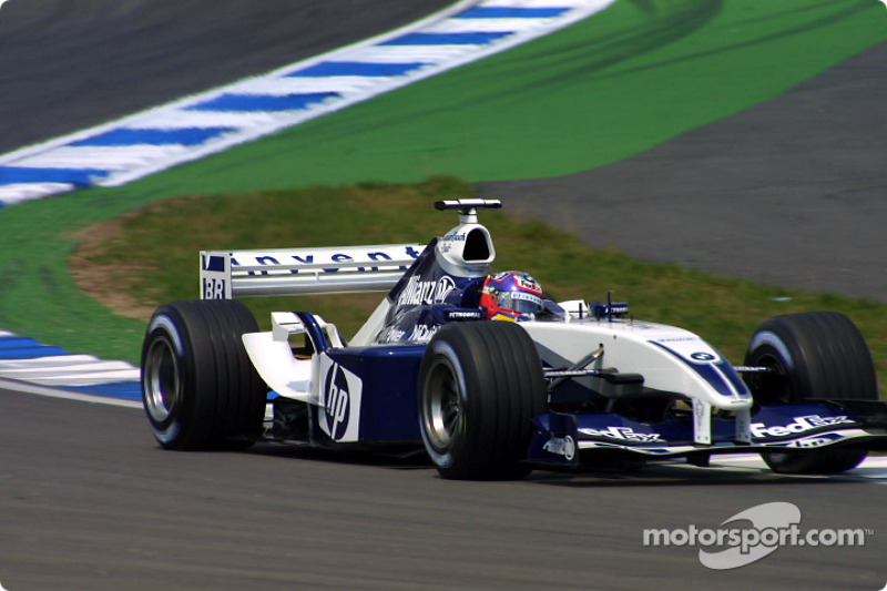 2003 - Hockenheim: Juan Pablo Montoya, Williams-BMW FW25