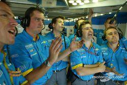 Miembros del Renault F1 team