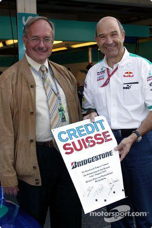 Peter Sauber con invitado