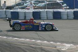 la Riley & Scott MK III C n°30 de l'équipe Intersport Racing pilotée par Clint Field, Michael Durand