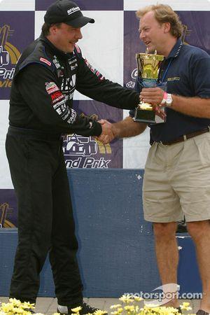 The podium: Johnny Miller