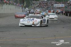 Cars leave for pace lap: Stuart Hayner