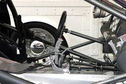 Le cockpit d'une Pro Stock car