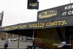 Stand de vente Mr. Moto