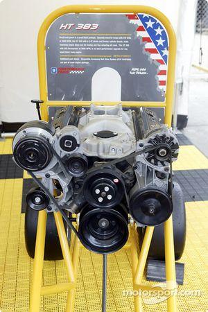 Le moteur GM exposé