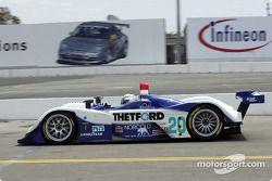 la Lola EX257/AER n°20 de l'équipe Dyson Racing Team pilotée par Christopher Dyson, Andy Wallace