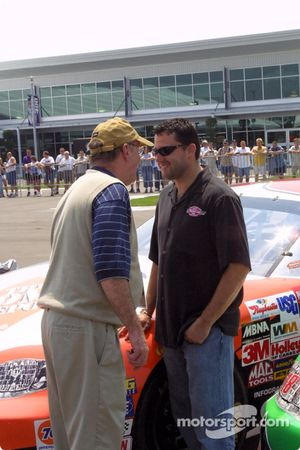 Jim Hunter et Tony Stewart