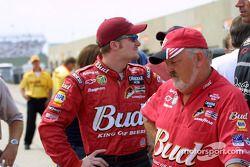 Dale Earnhardt Jr. et Tony Eury