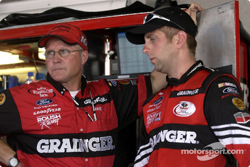 Greg Biffle and crew chief Randy Goss