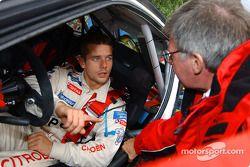 Sébastien Loeb et Jean-Claude Vaucard