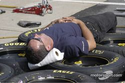 Rest before the race