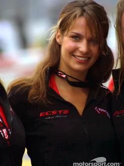 A lovely Ecsta girl