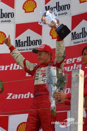 Le podium: Ryan Briscoe