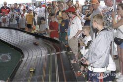 Slotcars, NASCAR training ground