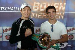 DTM vs Boxen: Danny Green und Markus Beyer