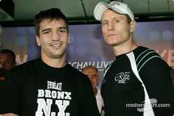 DTM vs boxing event: Markus Beyer and Danny Green