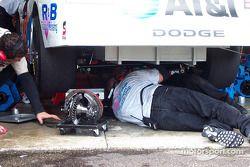 Rear gear change