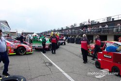 NASCAR grid lock