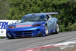 la Dodge Viper GTS-R n°71 de l'équipe Carsport America pilotée par Tom Weickardt, Jean-Philippe Bell