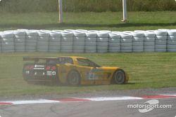 la Chevrolet Corvette C5-R n°4 de l'équipe Corvette Racing pilotée par Oliver Gavin, Kelly Collins e