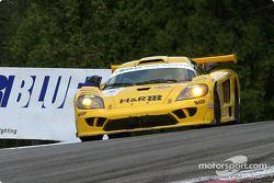 la Saleen S7R n°2 de l'équipe Konrad Motorsport pilotée par Franz Konrad, Mark Neuhaus