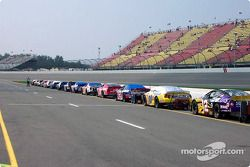 Lined up for the race