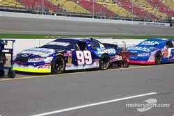 Michael Waltrip's car