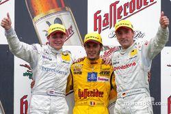 Podium: 1. Laurent Aiello, Abt Sportsline, Abt-Audi TT-R 2003; 2. Christijan Albers, Team HWA, AMG-M