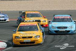 Jeroen Bleekemolen, OPC Euroteam, Opel Astra V8 Coupé 2002 und Gary Paffett, Team Rosberg, AMG-Merce