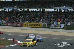Laurent Aiello, Abt Sportsline, Abt-Audi TT-R 2003 vor Mattias Ekström, Abt Sportsline, Abt-Audi TT-