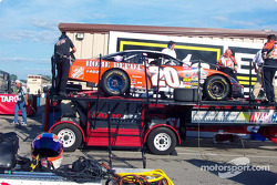 Post-race dyno check for Tony Stewart's car