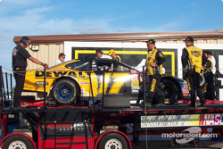 Post-race dyno check for Matt Kenseth's car
