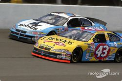 Christian Fittipaldi and Jimmy Spencer