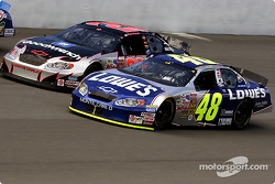Jimmie Johnson and Kevin Harvick