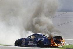 Rusty Wallace on fire!