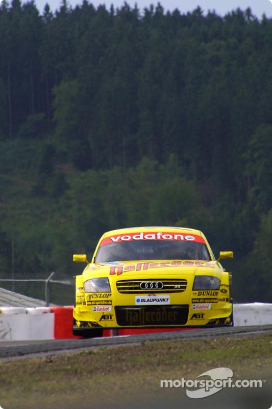 Christian Abt, Abt Sportsline, AbtAudi TTR 2003 bei Nürburgring 2  DTM Fotos