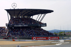 Grandstands before the race