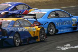 Stefan Mücke, Team Rosberg, AMG-Mercedes CLK-DTM 2002; Karl Wendlinger, Abt Sportsline, Abt-Audi TT-