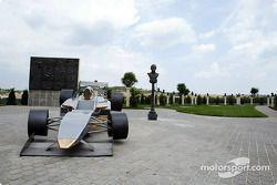 Sculpture de Formule 1